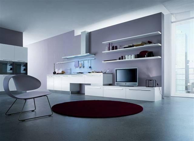 Arredamento Cucina Moderna. Elegant Cucina Moderna Black Colour Di ...