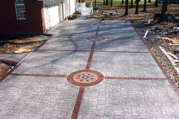 Pavimenti In Cemento Stampato : Smilecity